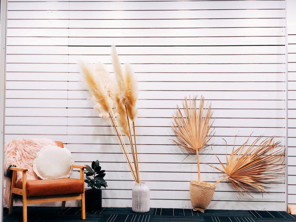 Eco friendly interior - sustainable