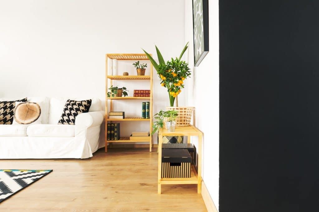 living room wall colors - black