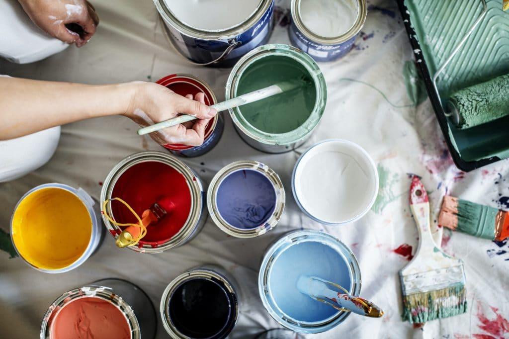 DIY home paint job